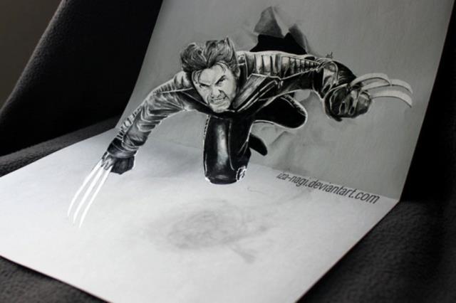 11-best-3d-pencil-drawings