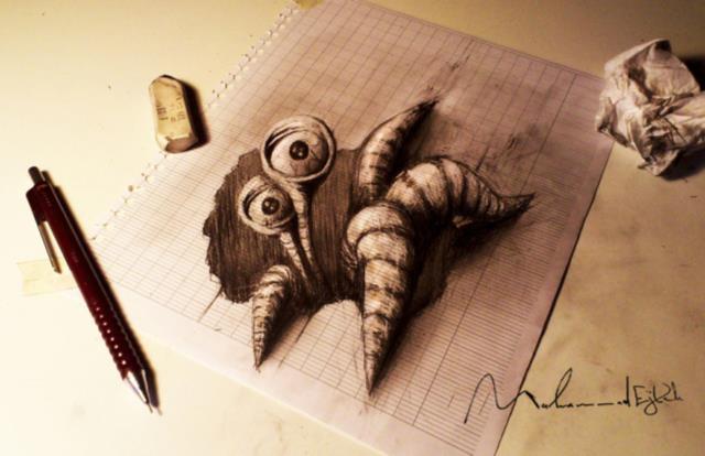 16-best-3d-pencil-drawings