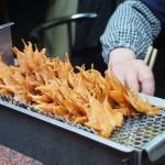 紅葉の季節。大阪の珍味「フライドメイプルリーフ」が海外で話題
