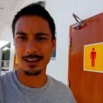 【びっくり1分動画】フィリピンのガソリンスタンドのトイレが信じられないことに