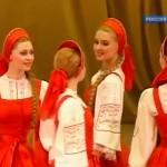 車輪が付いているみたいな不思議なロシアのフォークダンス「ベレズカ」