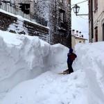 イタリアで日本の記録を打ち破るほどの記録的な大雪