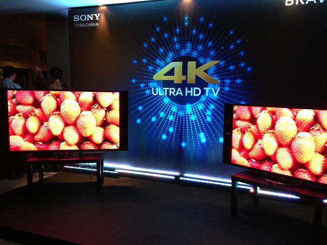 Sony 4K Ultra HD TV event